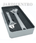 Adjustable Spanners Kit in Chromed Steel High Precision JC14866