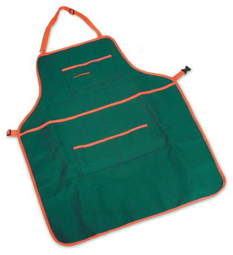 Garden Apron with Tool Carrying Pockets