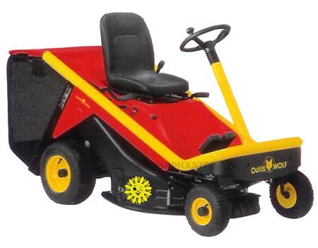 Tractor Corta Relvas A80B
