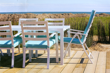 Conjunto Mesa, 2 Cadeiras e 2 Cadeirões em Alumínio CANNON BEACH - JARDICENTRO LOJA ONLINE
