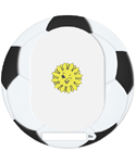 Moldura Digital de Desportos Bola de Futebol Download Gr�tis